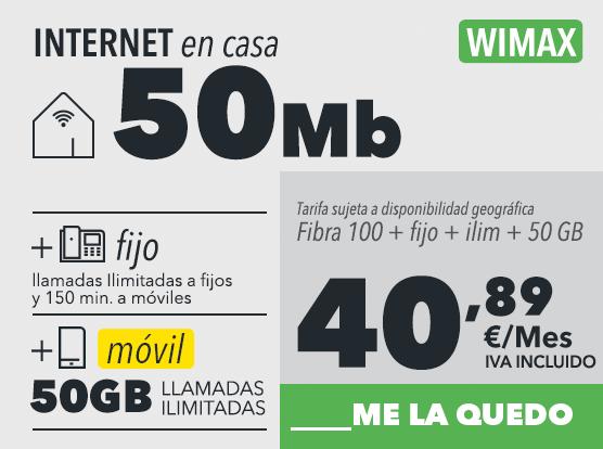Internet y un móvil